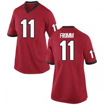 Women's Jake Fromm Georgia Bulldogs Game Red Football College Jersey