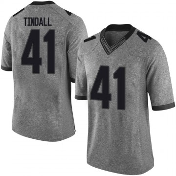 Youth Channing Tindall Georgia Bulldogs Nike Limited Gray Football College Jersey