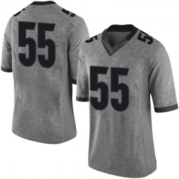 Youth Miles Miccichi Georgia Bulldogs Nike Limited Gray Football College Jersey