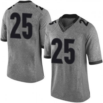Youth Quay Walker Georgia Bulldogs Limited Gray Football College Jersey