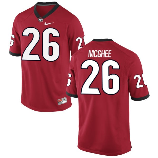 Youth Tyrique McGhee Georgia Bulldogs Nike Game Red Football Jersey -